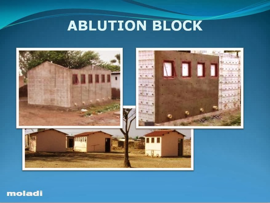 Ablution block