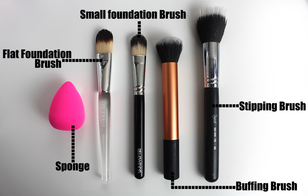 best liquid foundation brush
