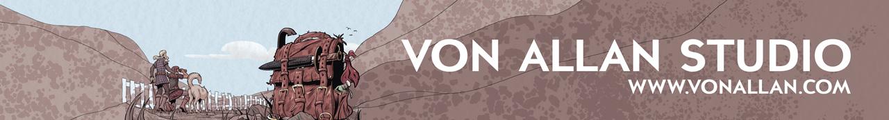Von Allan's art, comics and graphic novels