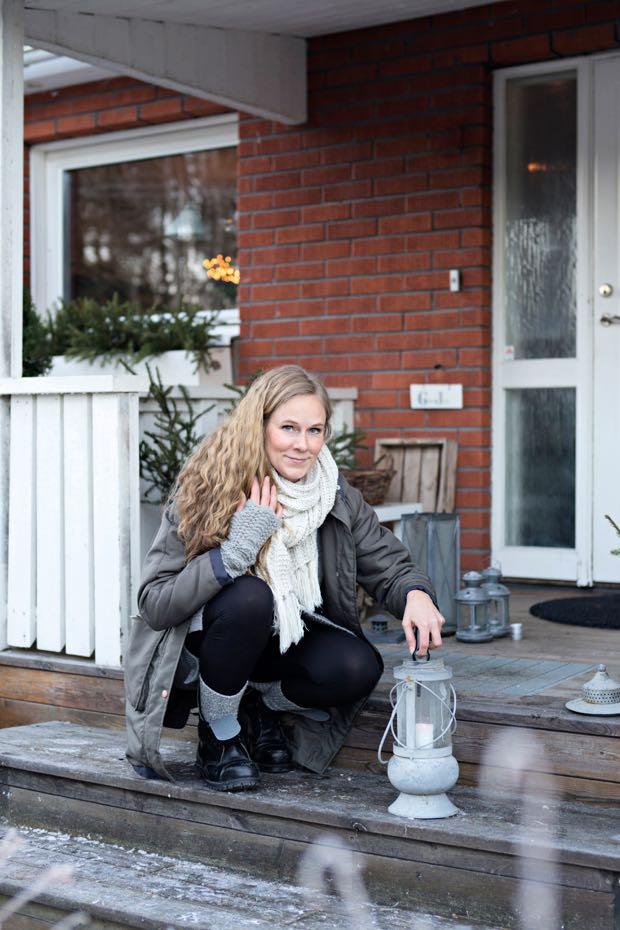 foto Cecilia Möller julreportage hannashantverk.blogspot.se