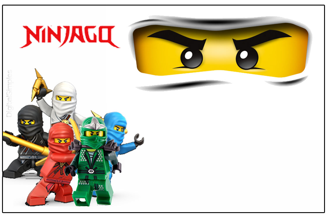 Kit digital anivers rio ninjago para imprimir convites - Photo ninjago ...