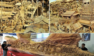 The longest carving out of single piece of timber