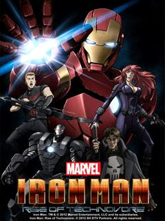 Iron Man Rise Of Technovore - dvdrip latino