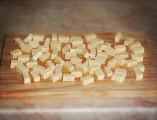 Сырный суп-пюре с цукини