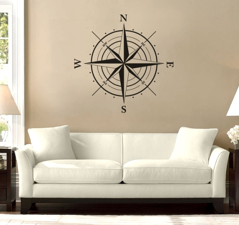Cool pass rose wall decal
