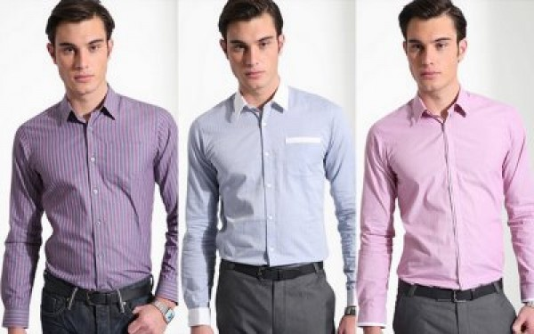 The Online @dition: men and shirts
