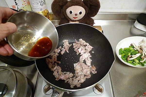 しょうゆ味の焼きそばの作り方(1)