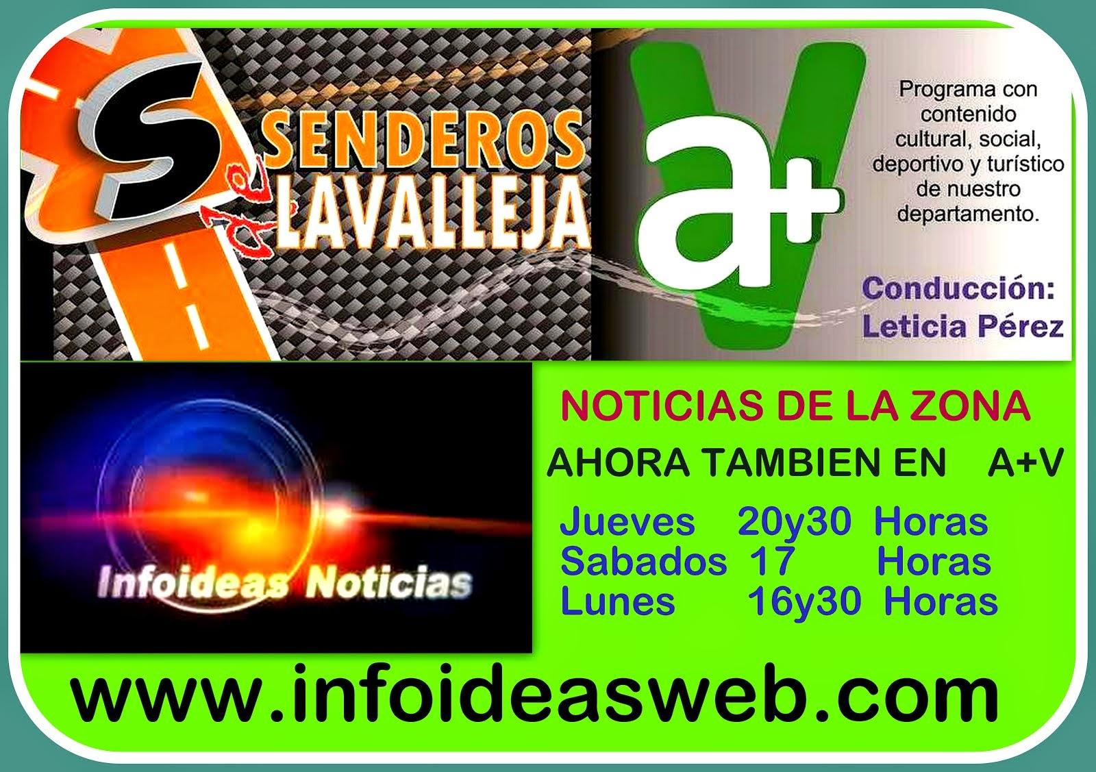 Senderos de Lavalleja  en A+V--infoideas tv