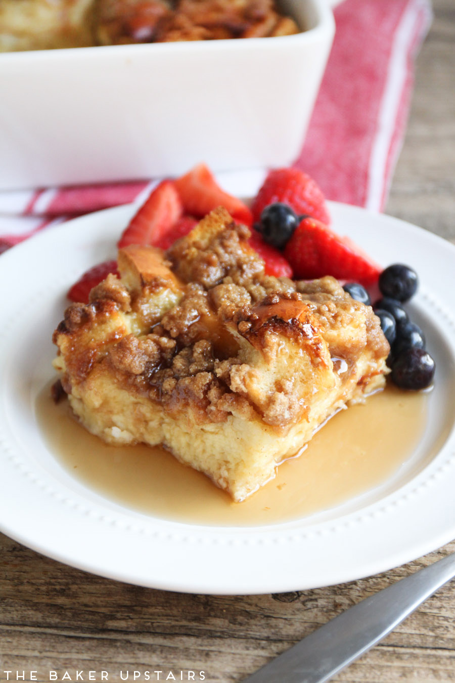 baked cinnamon french toast for the french toast 1 loaf