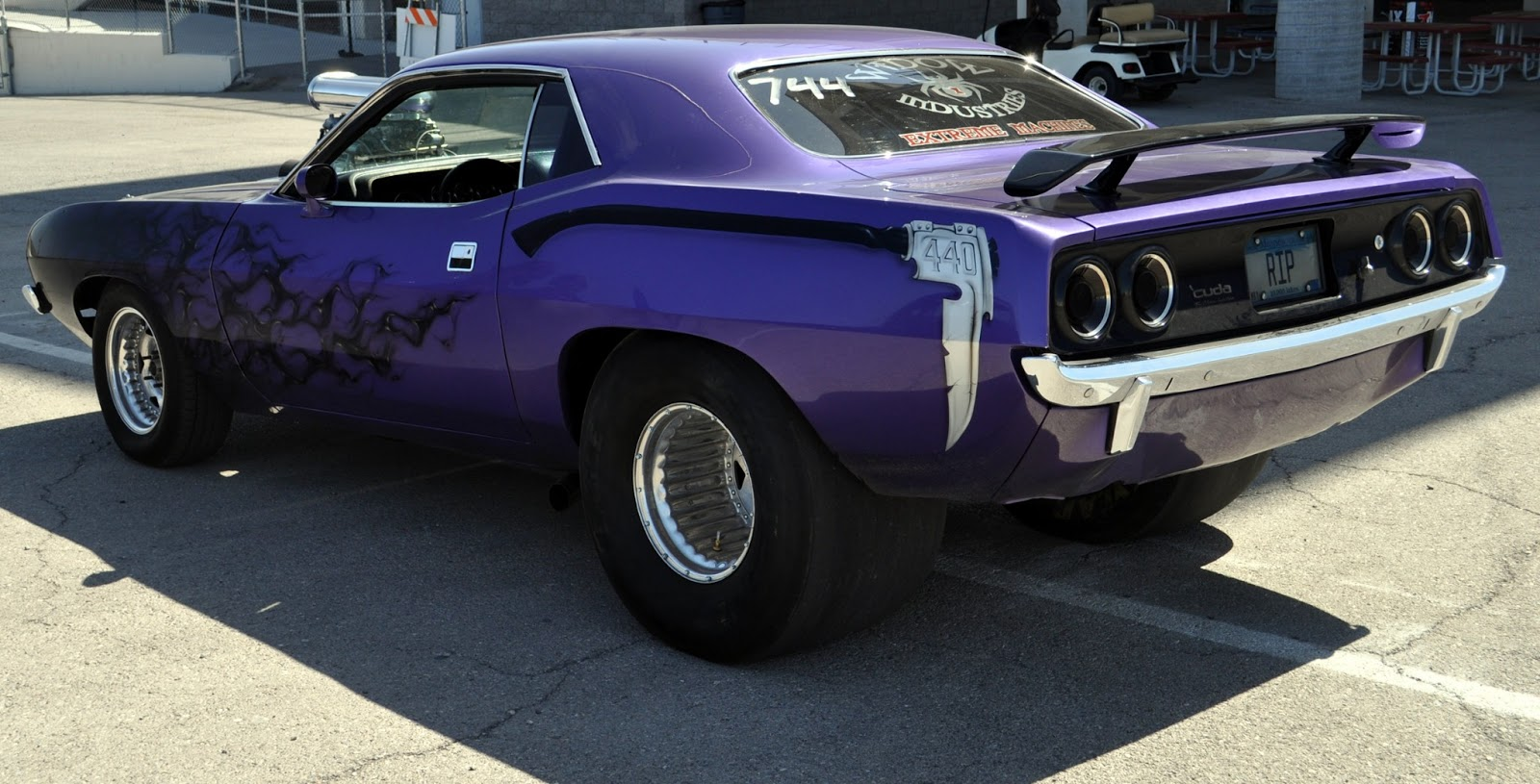 Just A Car Guy Bad Ass 72 Cuda From Widow Industries