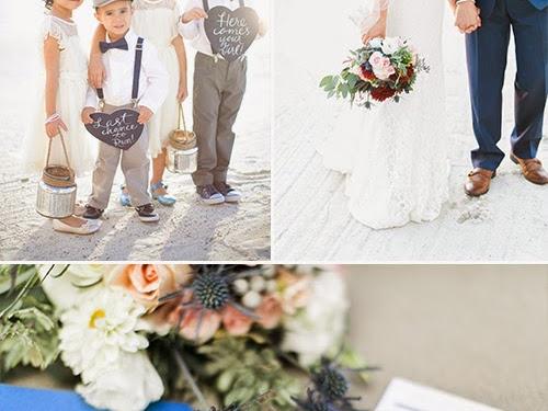Nautical-Themed Destination Wedding: Suree + Cimeron Wedding -  Lake Las Vegas