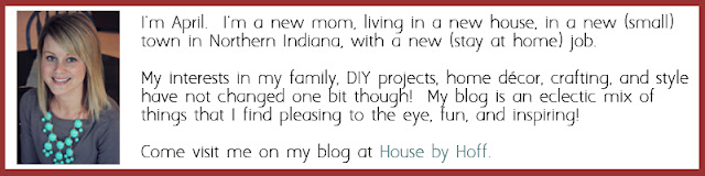 Blogging Team at Simply Designing - April from House of Hoff