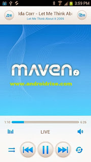D MAVEN Music Player Pro Android App