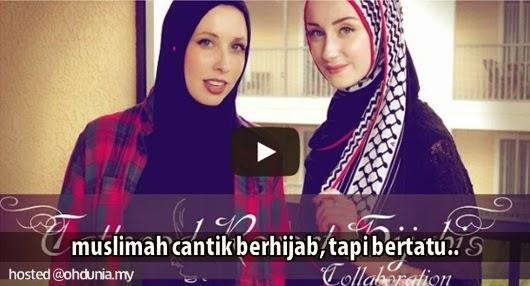 Mengapa Muslimah Mualaf Ini Berhijab Tapi Tubuh Penuh Dengan Tatu?
