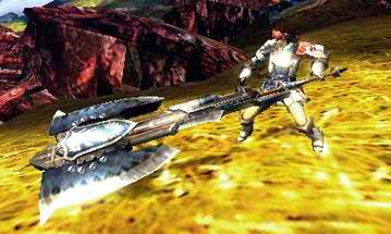 Monster Hunter 4 Charge Axe