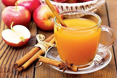 Make a medicinal tea-based Apple, cinnamon, anise and cloves