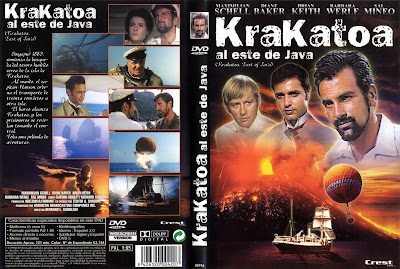 Krakatoa al este de Java | 1969 | Krakatoa, East of Java | Dvd Cover