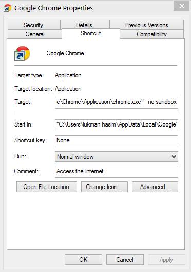 cara memperbaiki google chrome yang error