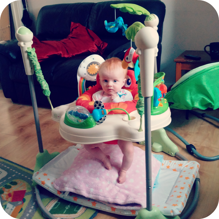 Full shot of Jumperoo