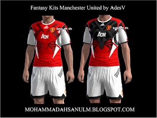 Fantasy Kits Manchester United by AdesV
