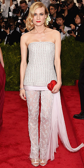 Diane Kruger, Met Gala 2015, red carpet, Chanel