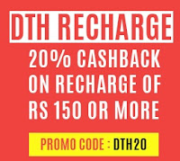 DTH Recharge 10% Cashback Maximum Rs. 30 on Rs.150 : Buy To Earn  Fastticket.in
