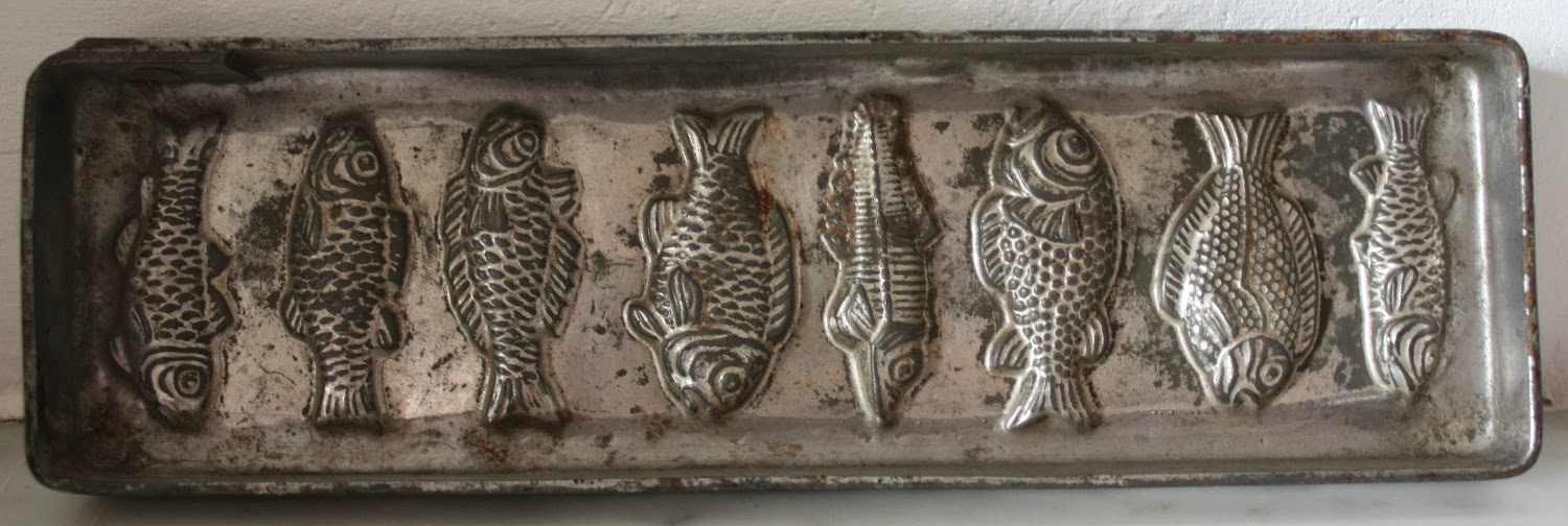 Antique French Chocolate Mold