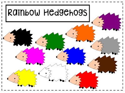 https://www.teacherspayteachers.com/Product/Rainbow-Hedgehogs-Clipart-2237661