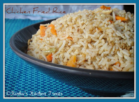 Rinku's Kitchen Treats: Chicken Fried Rice