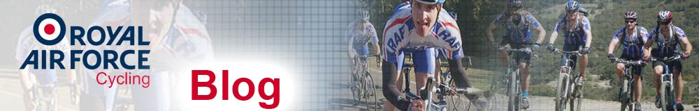 Royal Air Force Cycling Association Blog