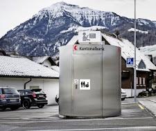 Kantonalbank eröffnet Bankomaten-WC