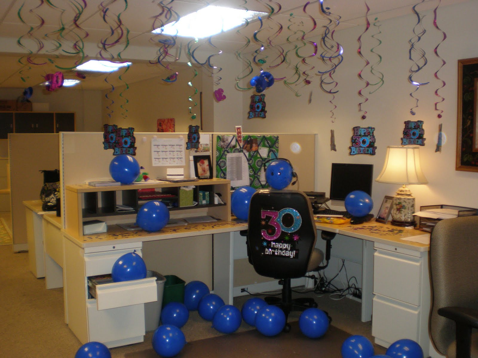 ideas for a coworkers birthday cubicle decorations joy studio design