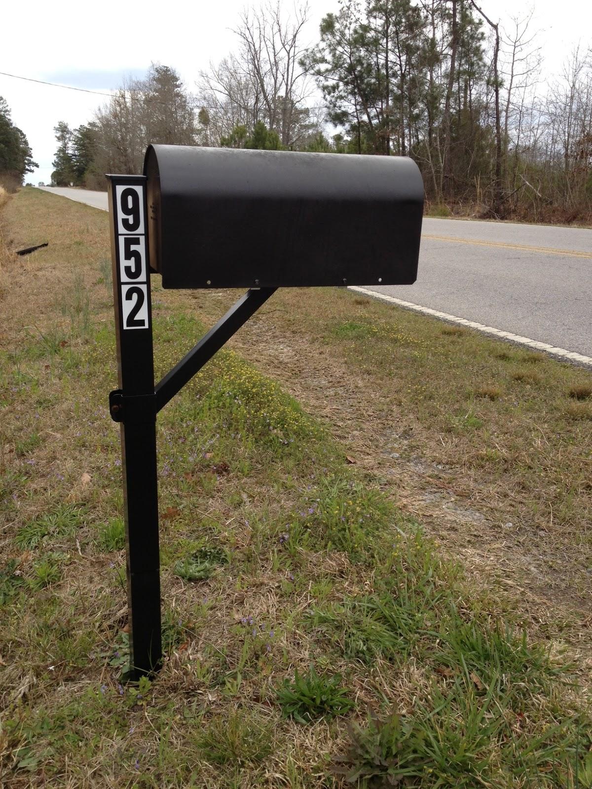 Practips diy replacing your mailbox post solutioingenieria Images
