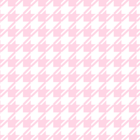 pink dogtooth pattern
