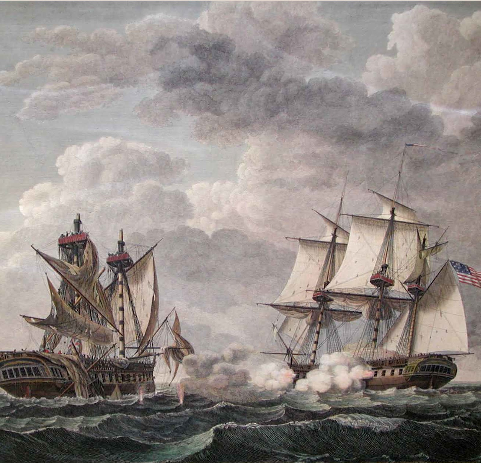 war of 1812 On june 18, 1812, president james madison signed a resolution, approved in  congress, declaring war against great britain over the next two and half years,.