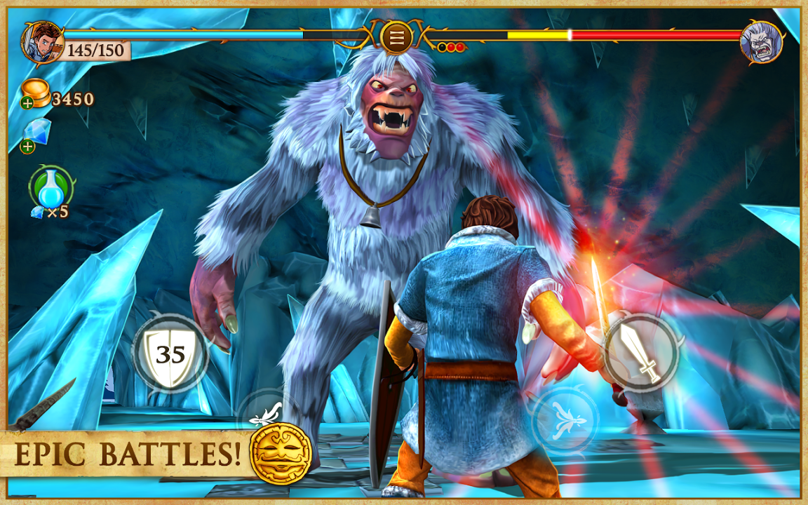 Beast Quest Gameplay IOS / Android
