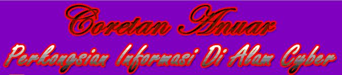 Coretan Anuar