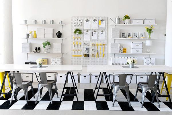 Tutorial: Como decorar la zona de trabajo en verano