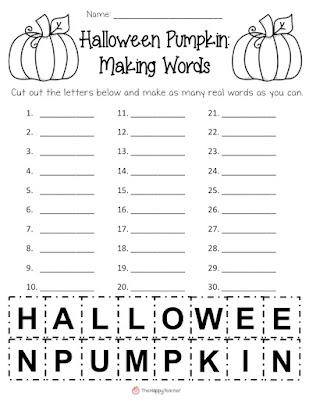 Halloween Homework Passes (No Homework - Just Treats) by My Second ...