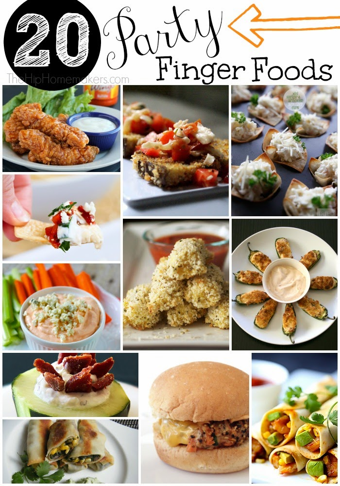 Healthy Yummy Finger Foods