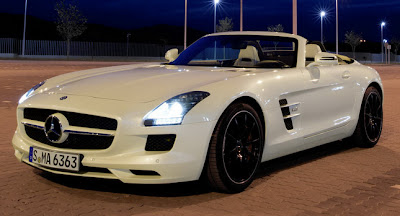 AUTO DEPORTIVO MERCEDES BENZ SLS AMG CARRO VERSION ROADSTER