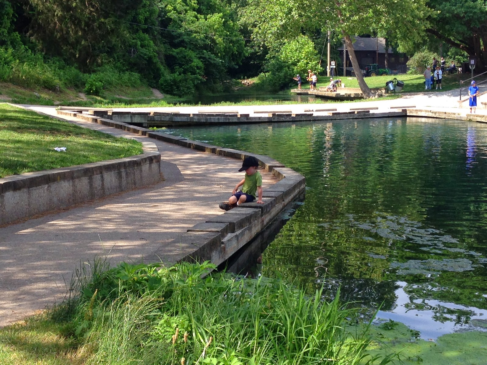 Ozark fly fishing june roaring river state park with desmond for Roaring river fish hatchery