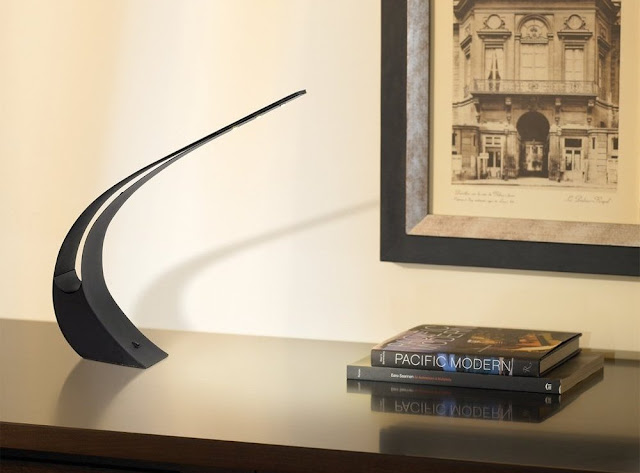 Stylish Curved LED Desk Lamp