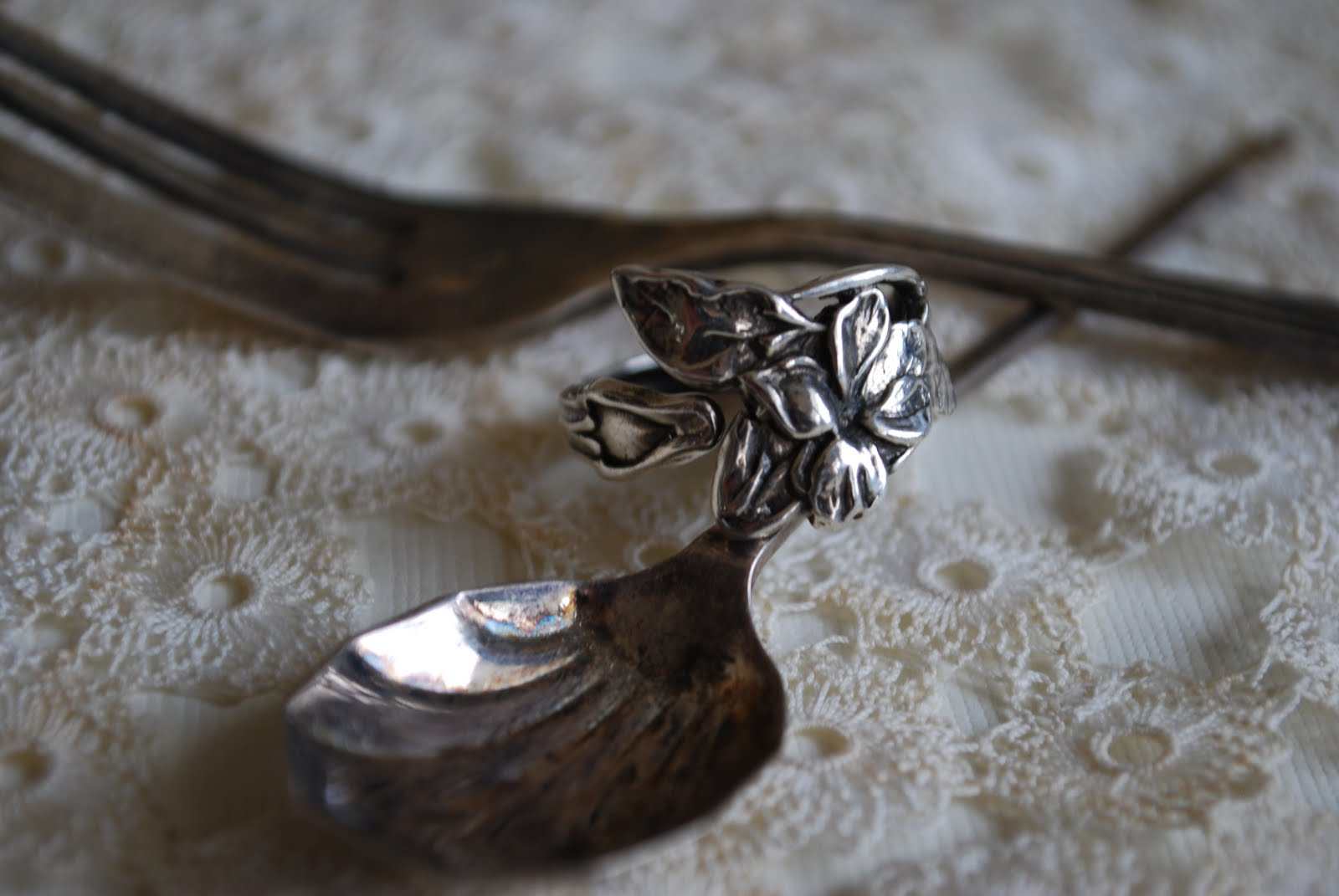 silver spoon jewelry the meaning of a spoon ring