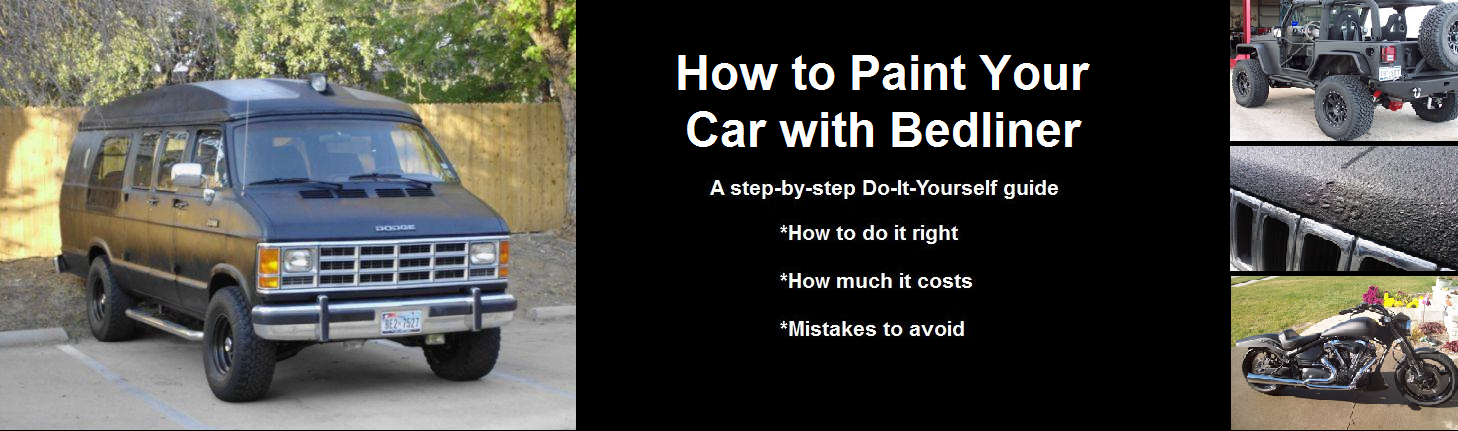 How to Paint Your Car With Bedliner