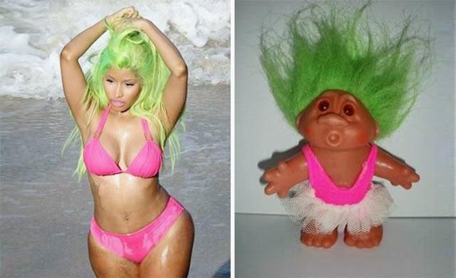 Nicki Minaj and troll