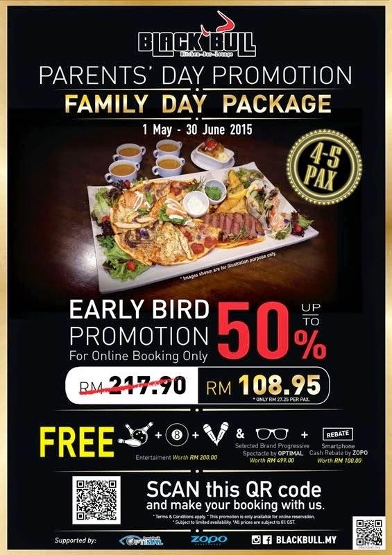 Parent Day Promotion at Black Bull Outlet