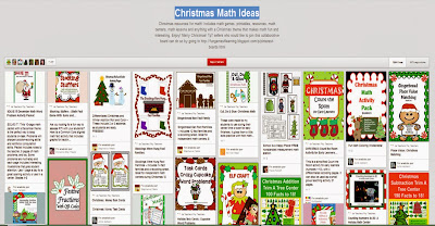https://www.pinterest.com/funmathstuff/christmas-math-ideas/