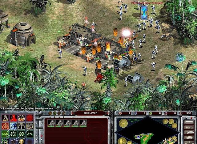 2 juegos de estrategia de star wars