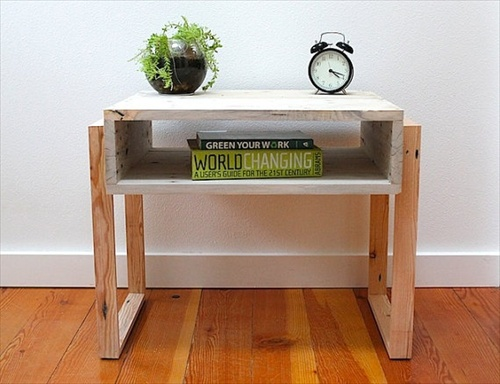 Multi pallet nightstand purpose used wood pallet furniture ideas and further it can be reassembled once your mind for the room designs changes the pallet wood is very cheap and creative and has so many different uses solutioingenieria Choice Image